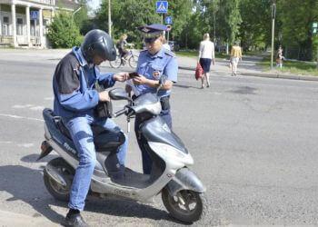 получение прав на управление скутером