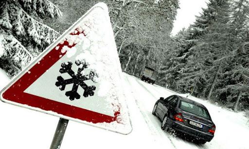 как водить авто зимой